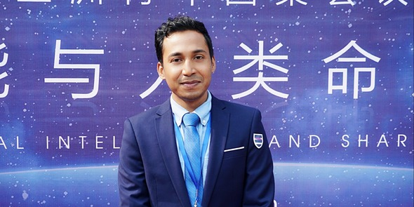 [Youth along the Silk Road Praise China] Young Bangladeshi  Entrepreneur: the Belt and Road Has Brought Opportunity to Bangladesh's E-commerce Development_fororder_孟加拉照片原图