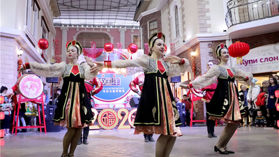 "Heihe City of Heilongjiang Province: ""Chinese Year"" creating a new brand of cultural exchanges in border sister cities"