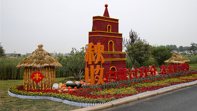 He'nan Province Holds the 2020 Chinese Peasants' Harvest Festival in Xijiangzhai Village, Xiangfu District, Kaifeng City