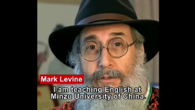 Mark Levine sings about life in China_fororder_MAKE
