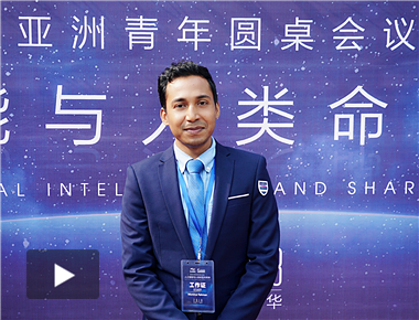 Young Bangladeshi Entrepreneur: the Belt and Road Has Brought Opportunity to Bangladesh's E-commerce Development (video)_fororder_孟加拉照片原图_副本