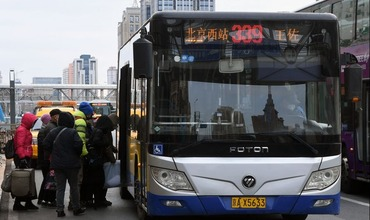 Beijing buses, subways enhance disinfection as work resumes