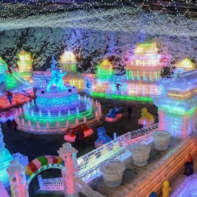 Beijing Yanqing has introduced five routes about Longqing Gorge Ice Lantern for visitors