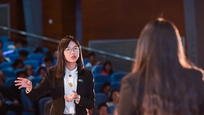 Finals of Capital University Students International Horticultural Exhibition Quiz held in Beijing