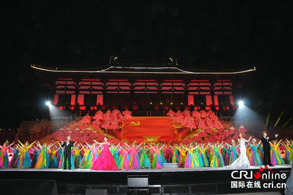 36th Luoyang Peony Cultural Festival Opens in Central China