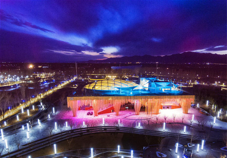 Yanqing inviting visitors all over the world to Beijing Expo 2019_fororder_五彩繽紛_meitu_3