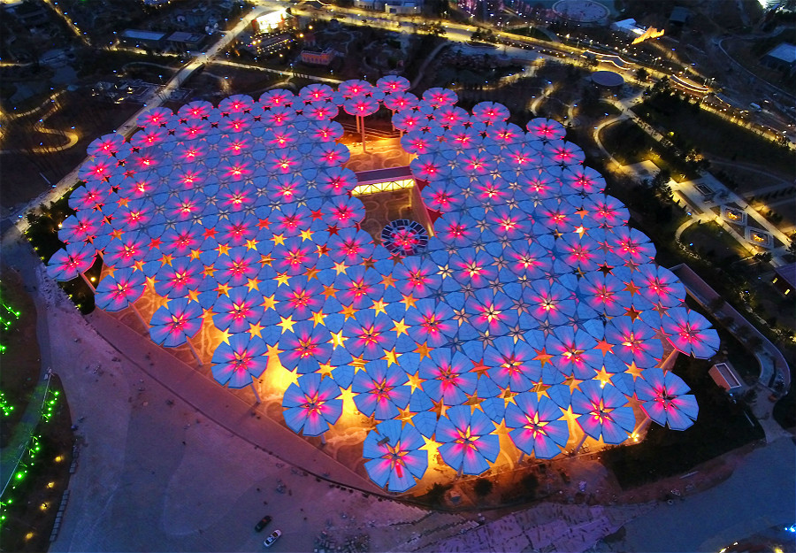 Yanqing inviting visitors all over the world to Beijing Expo 2019_fororder_百花齊放_meitu_7