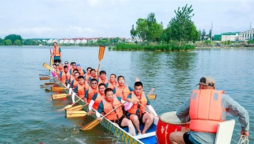 The 11th Beijing Dragon Boat Cultural Festival held in Beijing Yanqing