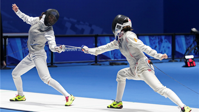 Fencing Test Event of the 7th CISM World Games Kicked off