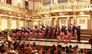 Beijing Yanqing Junior Choir song in Vienna and won the gold award of the World Peace Choir Festival