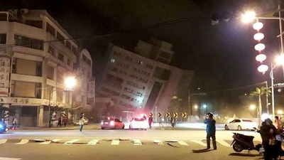 Two killed, over 200 injured in Taiwan earthquake_fororder_CqgNOlp6PNyAVUo4AAAAAAAAAAA883.900x628