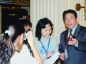 Council Member Jiang Kun was interviewws at the First Plenary Session of the Fifth Council Meeting