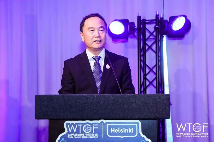 Successful Closing of the 2019 World Tourism Cities Federation Helsinki Fragrant Hills Tourism Summit The 2020 Summit Will Be Held in Beijing