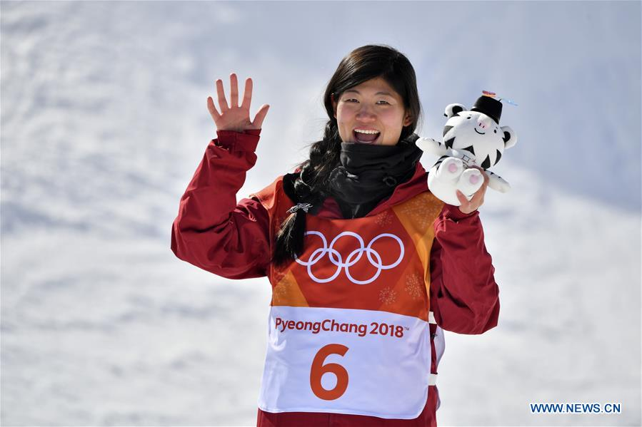 Liu Jiayu wins halfpipe silver, China's first medal at PyeongChang Olympics