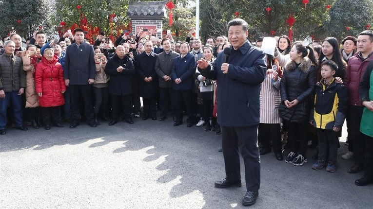 "China Focus: ""My job is to serve the people,"" Xi says in Lunar New Year inspection"