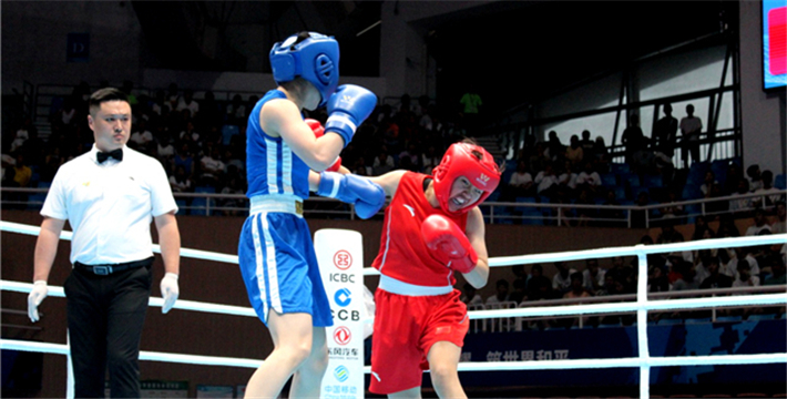 Boxing Test Event of 7th CISM Military World Games Kicked off_fororder_4