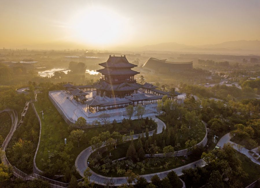 Site of Beijing horticultural expo to play more roles
