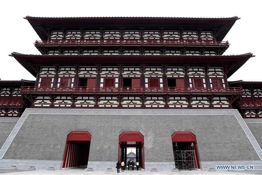 Yingtianmen site museum opens to public in Luoyang