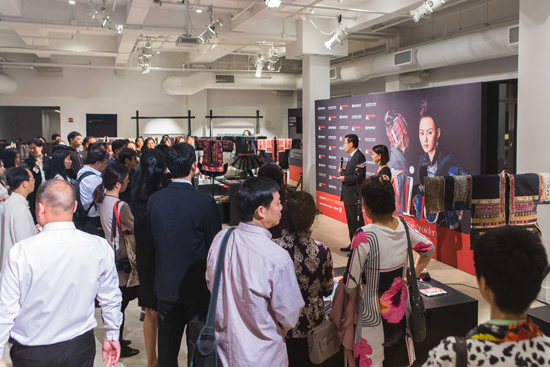 The 2016 China Miao Embroidery Charity Exhibition Held in New York