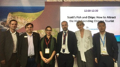 """WTCF hold """"Best Practices of Smart Tourism in Cities"""" panel in this year's WTM"""