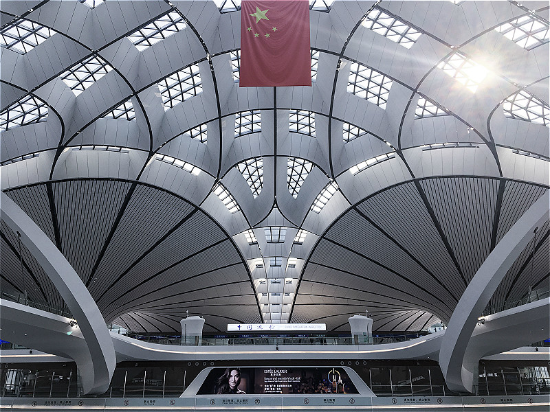 [Beijing in International Friends' Eyes] Glimpses of the new airport
