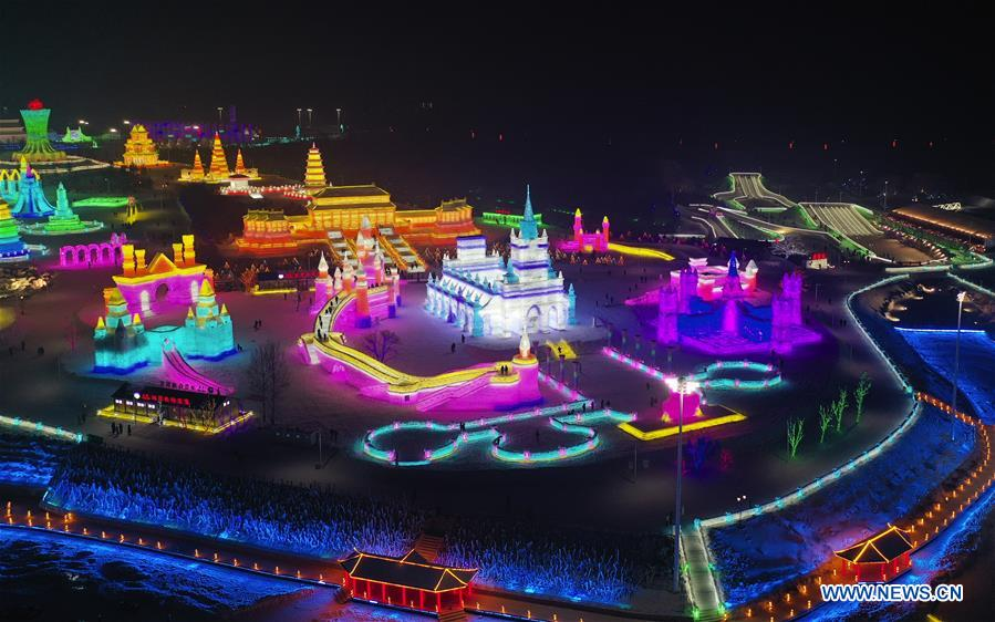 Changchun ice and snow grand world receives over 100,000 tourists since opening