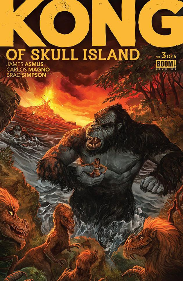 Image result for king kong skull island comic
