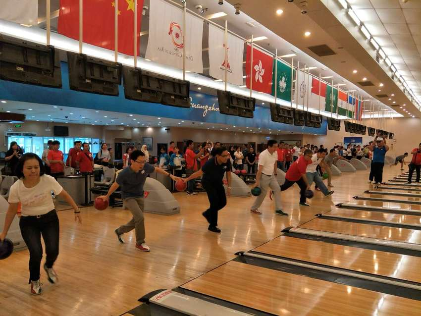 图片默认标题_fororder_ASEAN Friendship bowling competition Guangzhou2