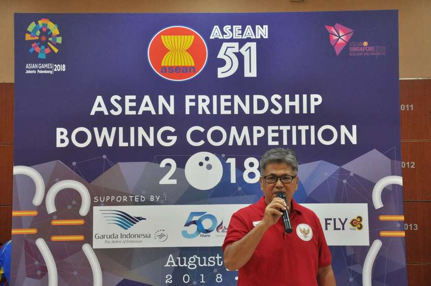 图片默认标题_fororder_ASEAN Friendship bowling competition Guangzhou5