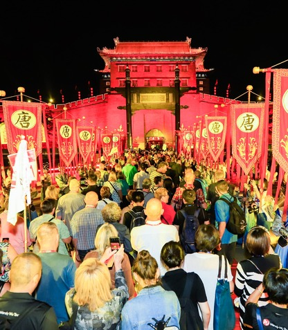 """""""Tour to Shaanxi by 1000 British Tourists & Tang Dynasty-style City Greeting Ceremony"""" Held in Xi'an_fororder_12"""