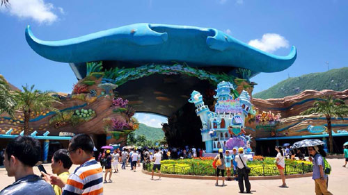 Tips Melawat Chimelong Ocean Kingdom