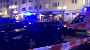 德国哈瑙枪击案致8死5伤 警方已逮捕一名嫌疑人(视频)