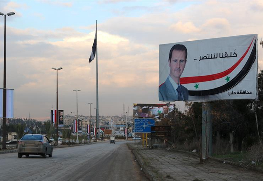 叙利亚大马士革至阿勒颇的战略要道恢复通车_fororder_wKgACl5R3pKAPAcFAAAAAAAAAAA617.900x599_副本