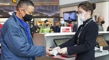 重庆首个市外复工返岗人员包机航班起飞