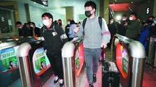 首趟复工高铁返南京