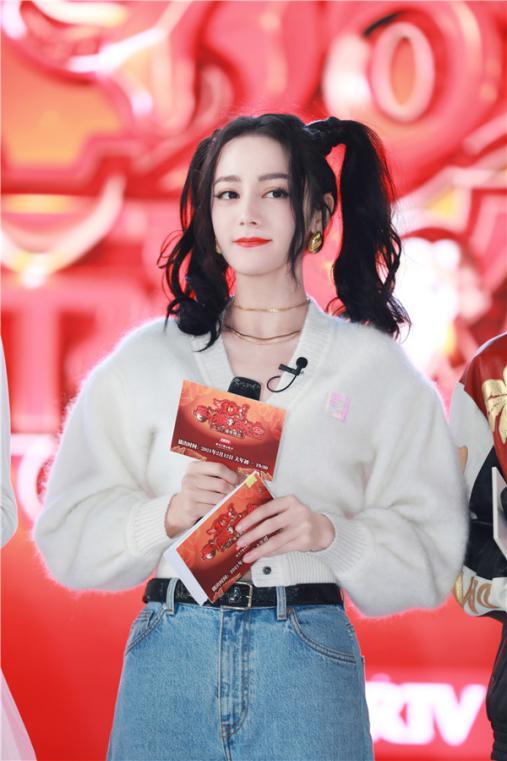迪丽热巴、王源代言2021北京台春晚