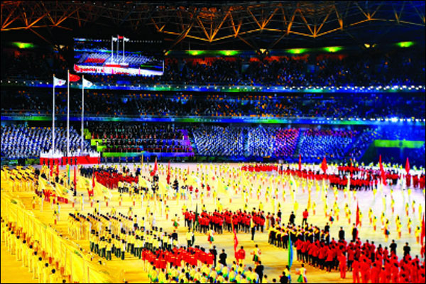 The 14th China International Sports Fair kicked off in Xi'an in a big way.  Jinping attended the ceremony and gave the opening remarks_fororder_20210916xjp2