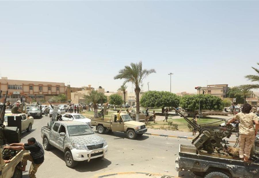 利比亚民族团结政府军方宣布已经控制首都的黎波里