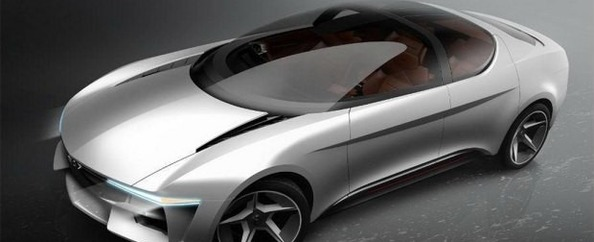 玻璃车顶 Giugiaro Sybilla概念车官图_fororder_G1