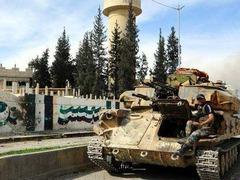 叙利亚反政府武装加快撤出大马士革东古塔地区