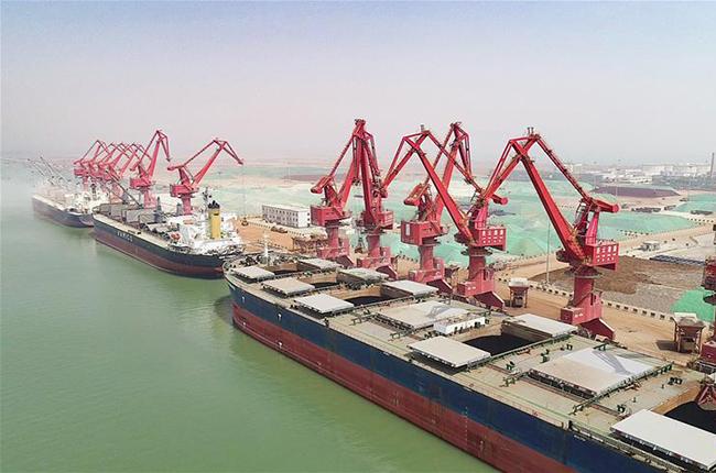 连云港港一季度完成货物吞吐量5891万吨