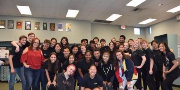 美中学生上演《西游记》音乐剧 华裔学生参与指导