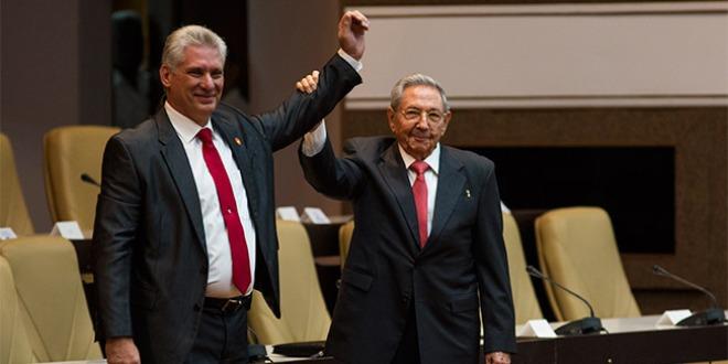 迪亚斯-卡内尔当选古巴国务委员会主席(组图)_fororder_040