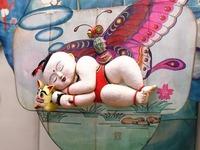 山东潍坊:风筝博物馆引游人