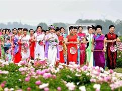 安徽亳州旗袍文化节开幕
