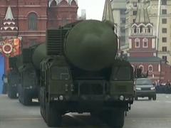 俄罗斯红场阅兵最终彩排 先进武器登场